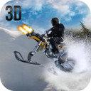 雪地摩托车手