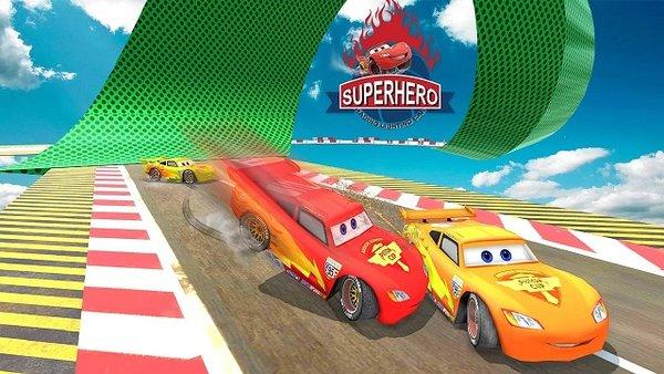 飞溅超级英雄赛车