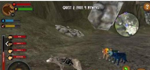 森林狼王模拟器