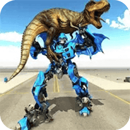 機器人變形機械恐龍