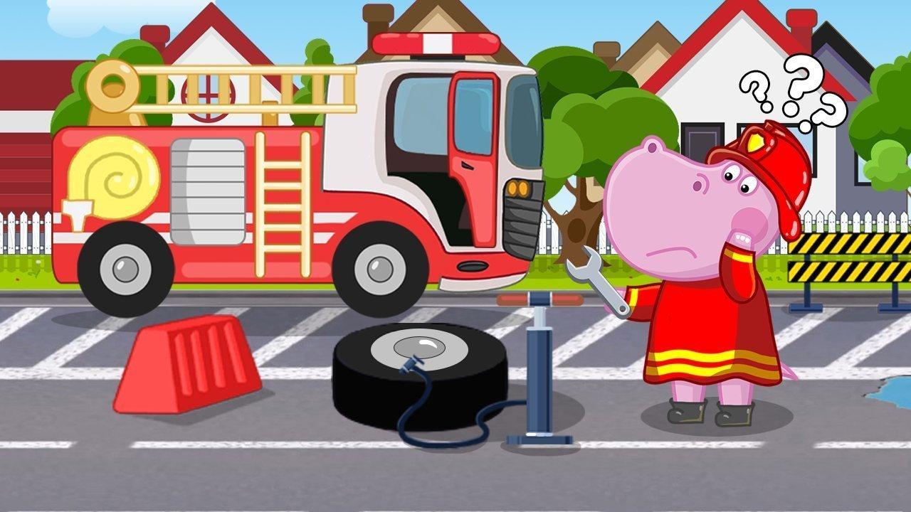 河马消防员