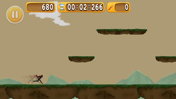 暗影战士跑酷游戏截图