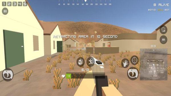 像素战场失落沙漠之战介绍