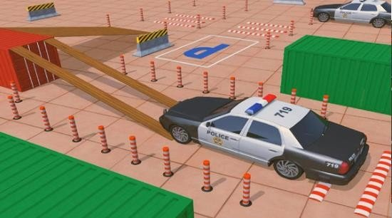 警察停车学校