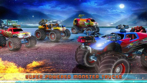 怪物卡车驾驶游戏截图