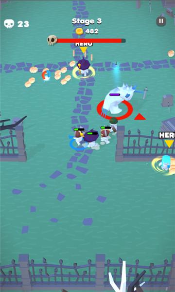 蛇形英雄游戲截圖