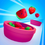 多汁扭曲水果