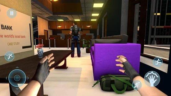 小偷银行抢劫案抢劫模拟器截图