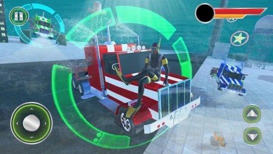 美国海军潜艇卡车驾驶模拟器