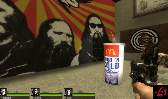 求生之路2麦当劳饮料杯子mod