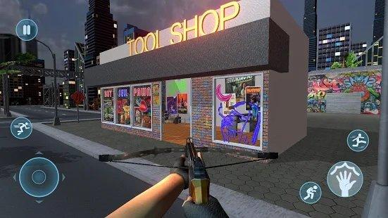 小偷银行抢劫案抢劫模拟器