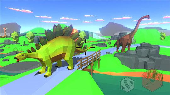 恐龙横冲直撞猎人