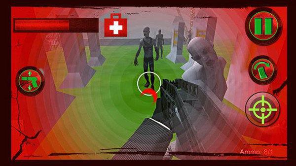 僵尸防御目标3D