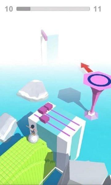 滑轮滚球3D