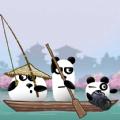 三只熊貓在日本
