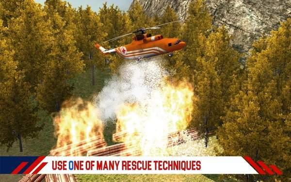 救援直升機