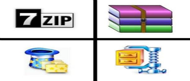 解压软件合集