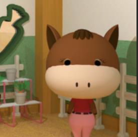 马与胡萝卜室