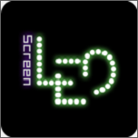抖音LED发光字幕滚动生成器