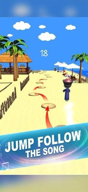 Hop zombie music games游戏
