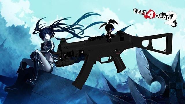 求生之路2UMP冲锋枪mod