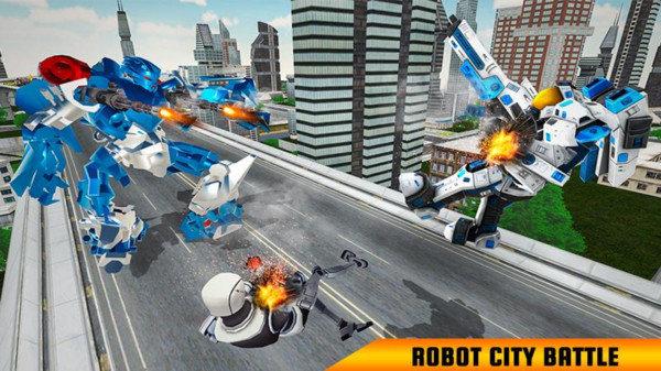 美国警马机器人
