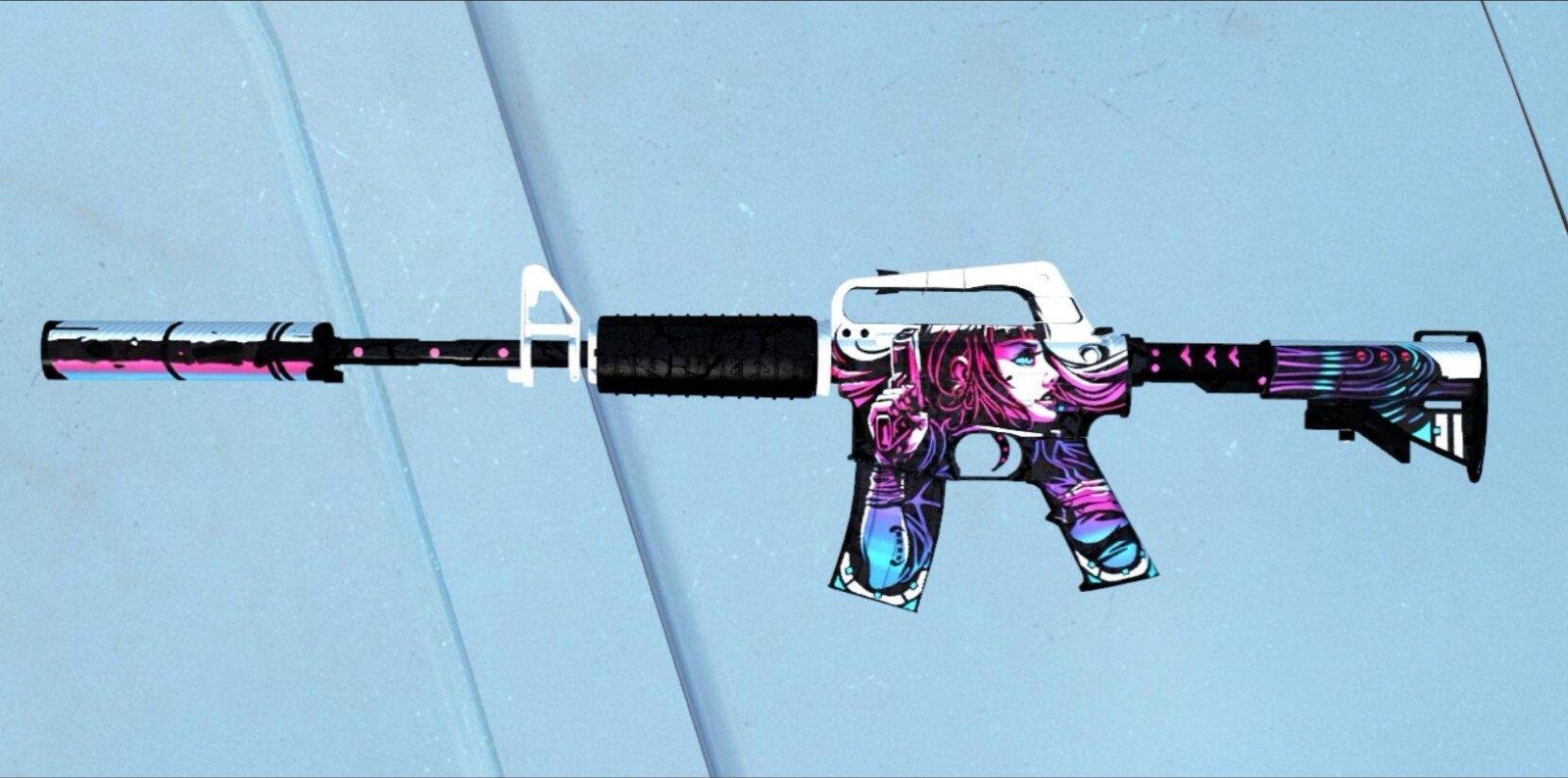 求生之路2M4A1突击步枪mod
