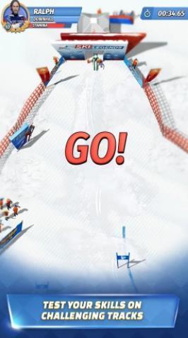 滑雪传奇游戏截图