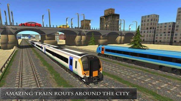 模擬火車鐵路