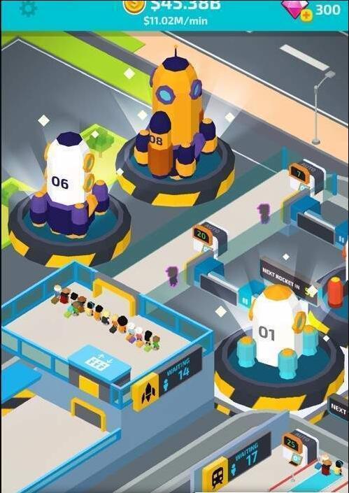 太空旅游公司游戏截图