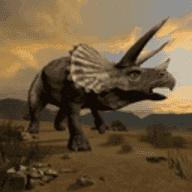 侏罗纪三角龙生存模拟