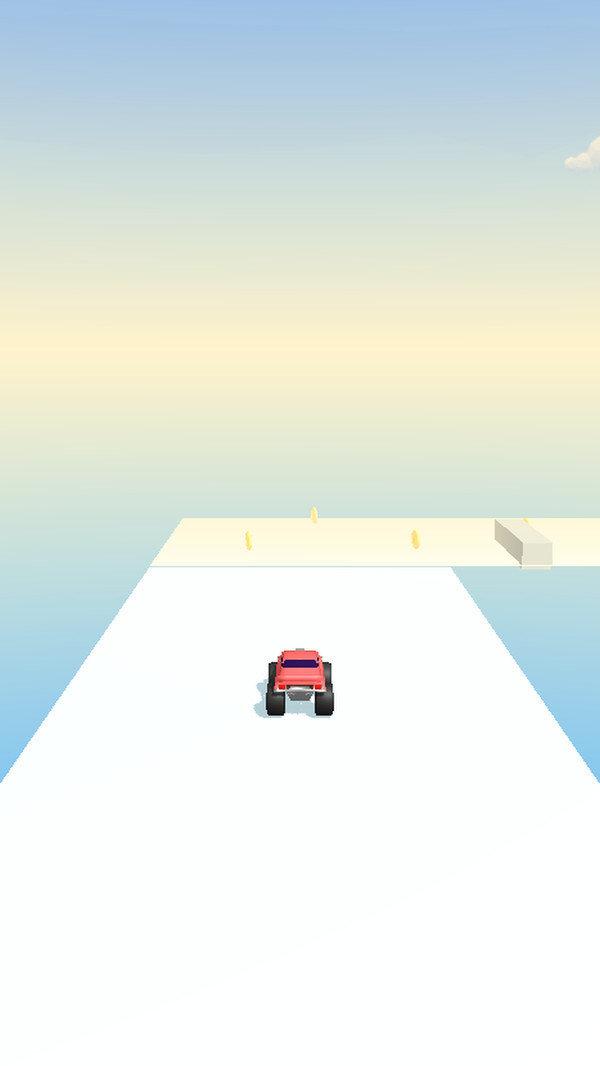 卡车行驶3D
