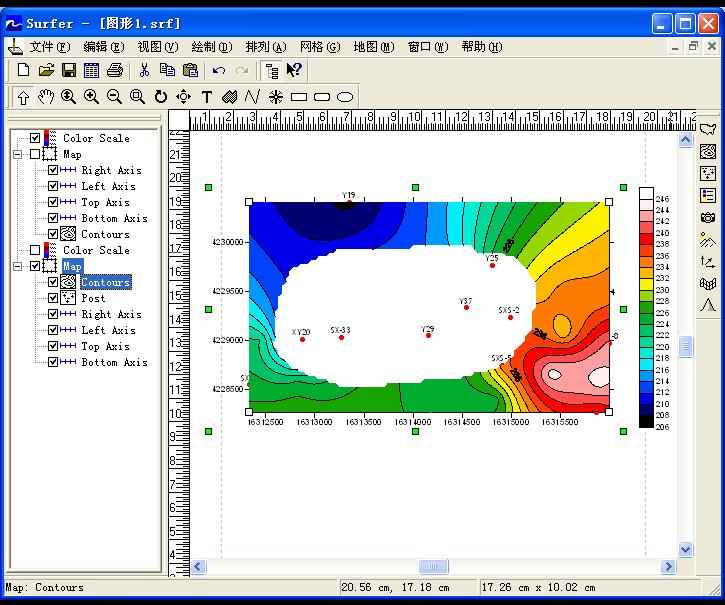 Surfer8.0中文破解版