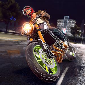 摩托车街头竞速