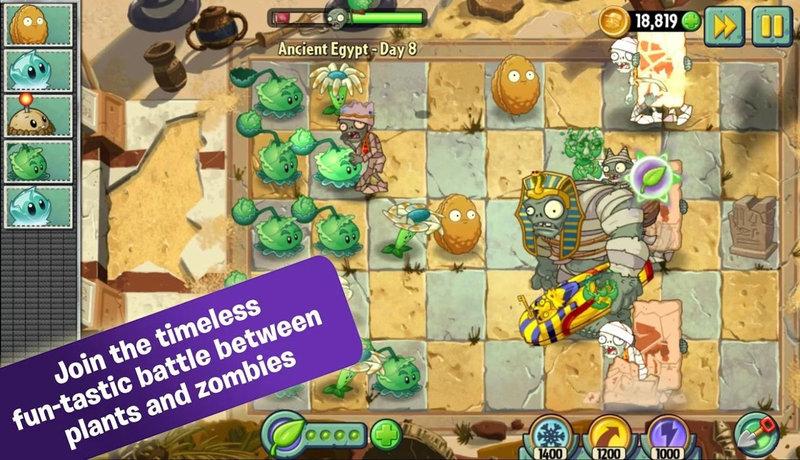 植物大战僵尸2国际版游戏介绍