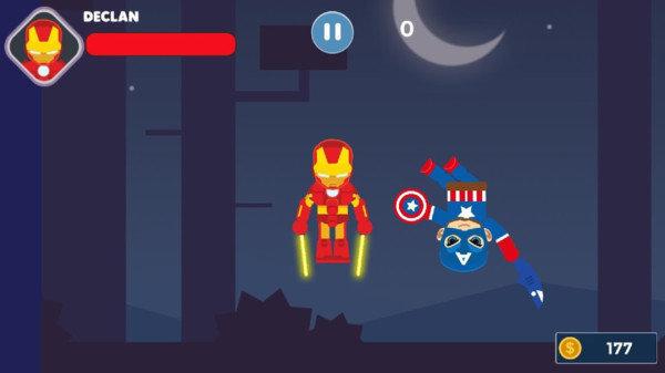 超级英雄决斗
