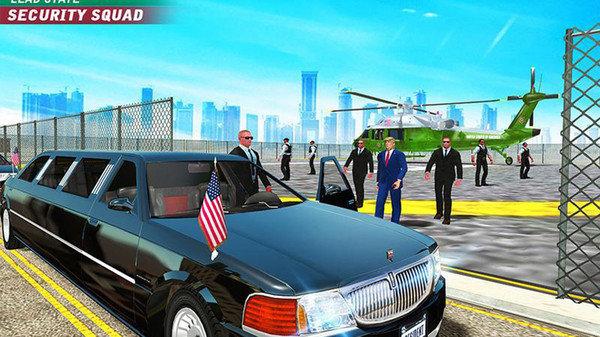 美国总统护卫模拟器