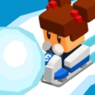 冰冻卡丁车滚雪球
