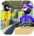 火柴人警察运输游戏