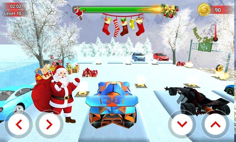 圣诞老人汽车驾驶模拟器