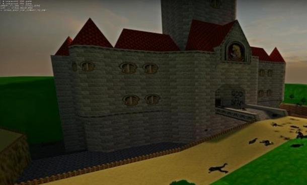 求生之路2超级玛丽城堡地图mod