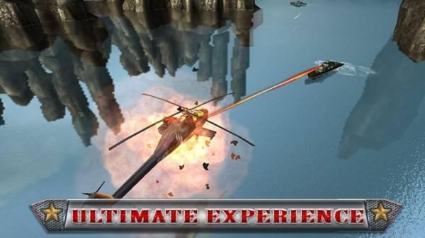 軍用直升機模擬器3D