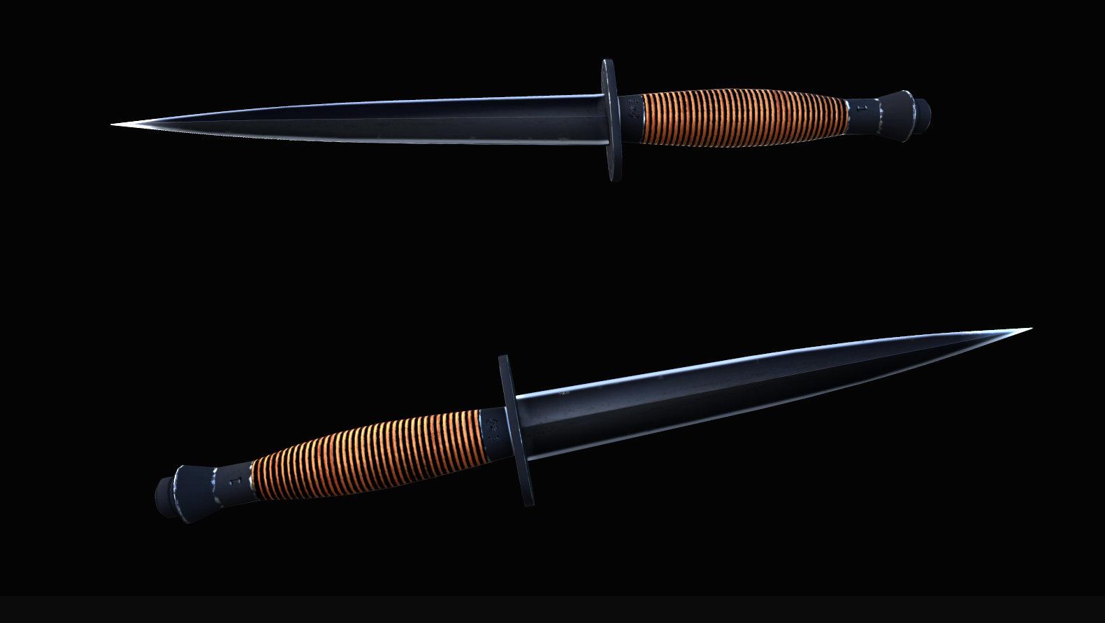 求生之路2英國SAS突擊隊匕首mod