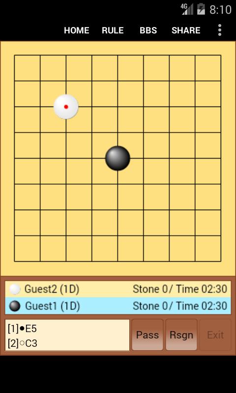 迷你围棋在线小游戏