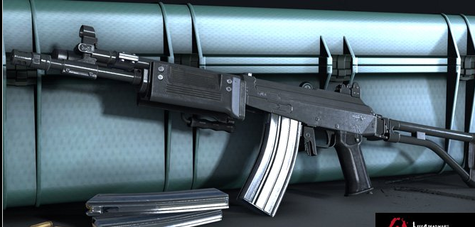 求生之路2SAR突击步枪mod