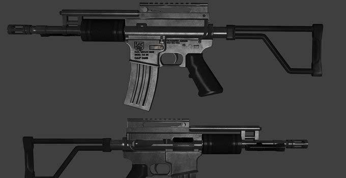 求生之路2OA93冲锋枪mod