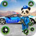 美国熊猫警察绳索英雄