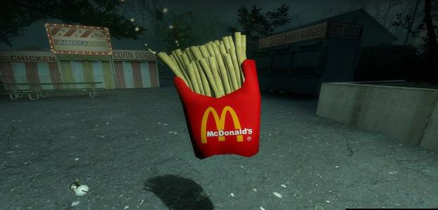 求生之路2麦当劳薯条mod