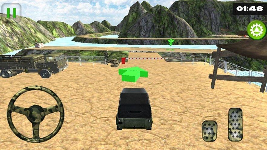 關路軍隊卡車模擬