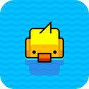 划水小黄鸭